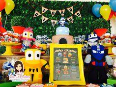 Festa Robot Trains - Dani Festas Personalizadas