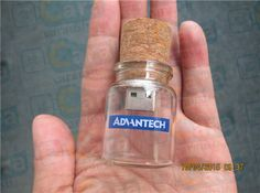 glass container usb flash disk drifting bottle wood stopper http://www.carausb.com/