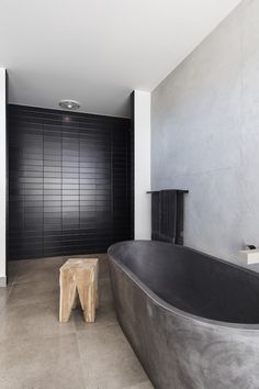Gallery Of Concrete Nation Local Australian Industrial Design Burleigh Heads, Qld Image 1 Concrete Bathtub, Concrete Basin, Oasis, Polished Concrete, Bathroom Interior Design, A Boutique, 6 Years, Palm Beach, Interior Architecture