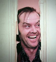 Fuckin love him 😂 Jack Nicholson, Stanley Kubrick The Shining, Horror Movie Posters, Horror Movies, Hollywood Actor, Hollywood Actresses, Movie Shots, Movie Couples, The Best Films