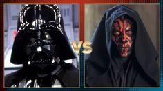 Darth Vader and Darth Maul