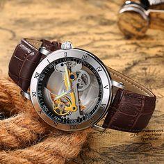 New Creative Wacthes Men 3ATM Waterproof Transparent Case  Automatic Mechanical Watch Mens Tourbillon Watches Relogio Masculino https://uxshops.com/?p=5875