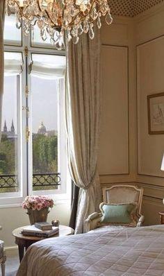 Parisian Bedroom.  Parisian bedroom with view takes all Pinteres