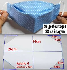 Sewing Hacks, Sewing Tutorials, Sewing Crafts, Easy Face Masks, Diy Face Mask, Mouth Mask Fashion, Sewing Projects For Beginners, Diy Mask, Mask Making