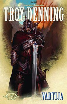 """""""Vartija"""" (Maailmanjako, Kirja 5) by Troy Denning Julkaistu: joulukuu 23, 2015 (Jalava) Alkuperäinen nimi: """"The Sentinel""""  Tyyppi: spekulatiivinen fiktio  Tyylit: fantasia Avainsanat: dungeons & dragons, forgotten realms"""