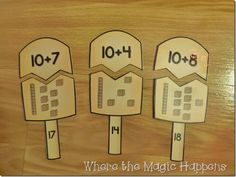 October math activities for first grade. These learning activities are fun…