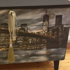 #decoupage and #vintagePaint saved this #dresser ;) #butterflyvintage
