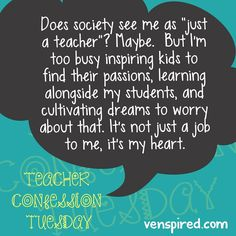 Proud to be a teacher!