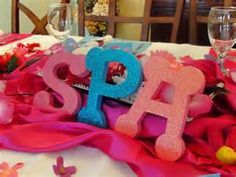 spa party ideas for girls birthday - Bing Imágenes