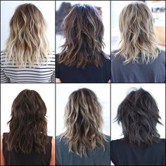 Likes, 27 Comments - Los Angeles Medium Hair Cuts, Medium Hair Styles, Curly Hair Styles, Modern Shag Haircut, Hair Today Gone Tomorrow, Corte Y Color, Hair Pictures, Layered Hair, Hair Dos