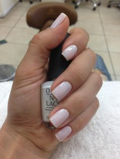 """OPI FUNNY BUNNY I use the SHIT outa this """"colour"""" at my salon"""
