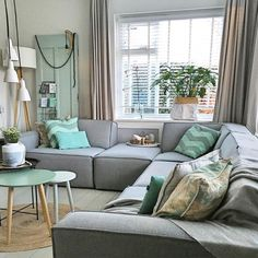 The Best 2019 Interior Design Trends - DIY Decoration Ideas Living Room Grey, Home Living Room, Living Room Decor, Small Space Interior Design, Home Design, Design Ideas, Sweet Home, Home Fashion, Home Furniture