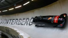 Great Britain's four-man bobsleigh team rounded off their Winter Olympics preparations with a silver medal at the European Championships in Germany.