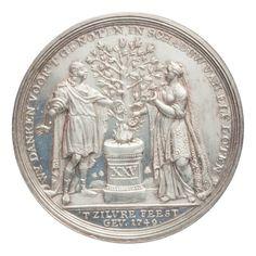 Zilveren huwelijk van Theodorus Bisdom en Maria van Harthals. — Teylers Museum