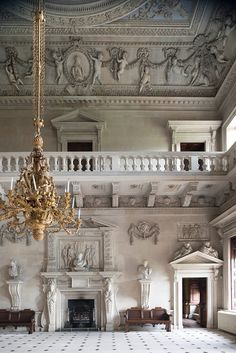 If ever there were a house with as much history as Downton Abbey, Houghton Hall—a magnificent Palladian mansion in Norfolk, England—is it. Its collection is on view at Houston's Museum of Fine Arts.