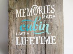 rustic pallet sign reclaimed wood sign by ThatPaintedGlass on Etsy