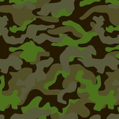 The green camo print is part of the Mixed Bag Designs collection of reusable bags and totes