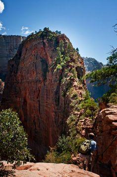 Zion National Park trail
