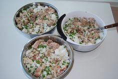 Pug Food Mix