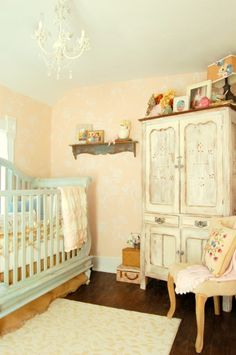 Bon When We Removed A Chimney From The Farmhouse, We Not Only Gained Square  Footage In The Nursery, But We Also Had An Excuse To Give This Little Space  A ...