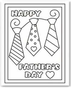 One of our fun kids printable activities are these free coloring cards. They are an easy way for younger kids to make dad a card for Father's Day. Fathers Day Coloring Page, Coloring Pages For Kids, Free Coloring, Coloring Sheets, Colouring Pics, Coloring Book, Father's Day Activities, Printable Activities For Kids, Fathers Day Crafts