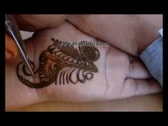 simple arabic henna designs, simple arabic henna designs on hand, popula...