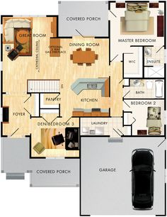 Birchlane Floor Plan