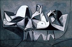 Femme couchée lisant (1960) Pablo Picasso