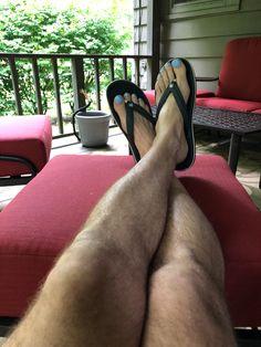 "Essie ""Iddy bitty bikini"" Men Nail Polish, Toe Polish, Polished Toes, Mens Nails, Painted Toes, Men Sandals, Barefoot Men, Male Grooming, Sexy Toes"