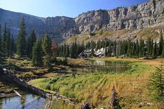 Chinese Wall in Bob Marshall Wilderness, Montana