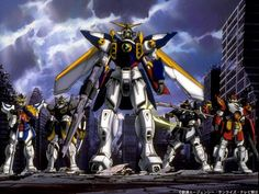 favorite show as a kid --> Gundam Wing