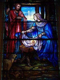 Description: Lockport, New York (NY): First Presbyterian Church: The Nativity (Payne-Spears Studio)