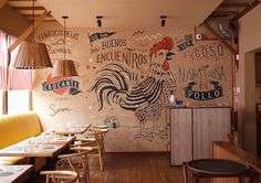 "Rotisserie chicken restaurants are one of the most popular type of restaurants in Lima, being part of Peruvian food for many years now. Primos Chicken Lovers Bar wanted to honor the ""chicken Fanatics"" by giving them a rockstar status. The identity present…"