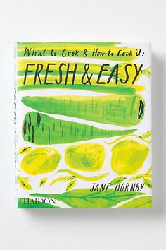 "Jane Hornby returns to the kitchen with ""Fresh"", a collection of 75 all-new mouthwatering, step-by-step recipes that make the best of fresh, seasonal vegetables, fruit, meat and fish."