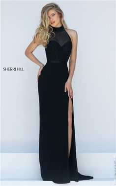 sherri hill mermaid haltered - Google Search