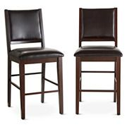 Dining Possibilities Set of 2 Counter-Height Side Chairs