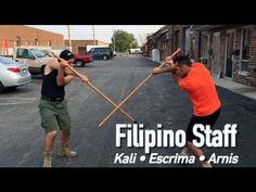 Incredible Bo Staff Drill from Filipino Martial Arts! - Kali, Escrima, Arnis - YouTube