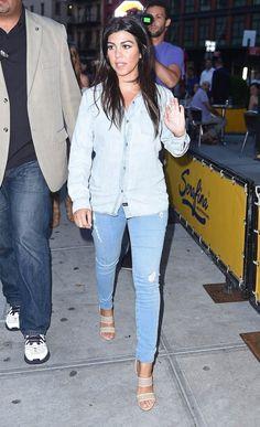 Kourtney Kardashian New York City June 16 2014