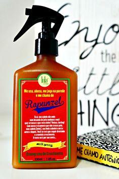 Leave-in Milk Spray Rapunzel Lola Cosmetics resenha cabelo cacheado