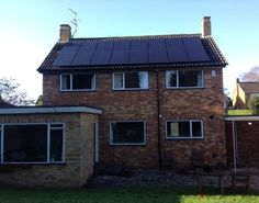 Opening doors to low energy refurbishment Days In September, Uk Homes, Houses, Cabin, Inspired, House Styles, Green, Home Decor, Homes