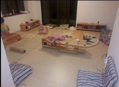 RIE inspired play area