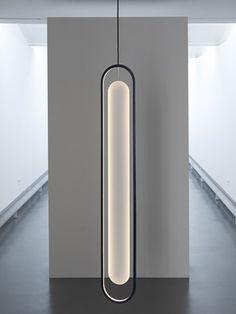 luminária pendente com lâmpada oval