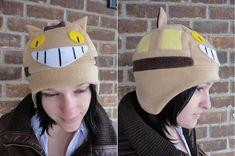 Catbus Fleece Hat | 47 Insanely Adorable Studio Ghibli Items You Need Immediately