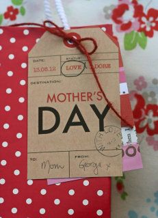 Free Mother's Day printables - so great!