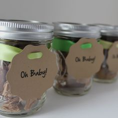Baby Shower Favors ideas.