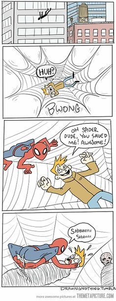 Spiderman has changed…