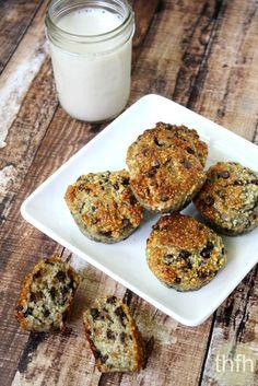 Gluten-Free Vegan Chocolate Chip Banana Muffins
