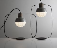 'The New Old Table Light' by KIMU Design Taiwan-based KIMU Design has extended their 'New Old' range of lights, a series at the intersection...