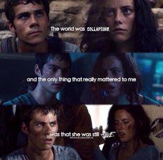 I will always ship Thomesa so hard. She saved him, not betrayed him.