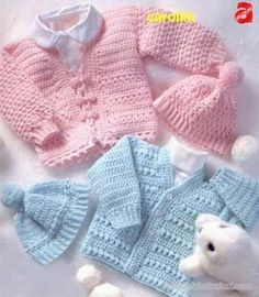 LeisureArts provides wide collections of Crochet baby sweater set patterns for boy & girl. Your little ones will be warm and cozy and cute as can be when the weather's cold.